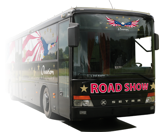 Ovation Roadshow Tourbus